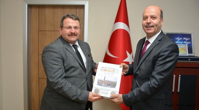 Başkan Bozkurt'tan SGK il Müdürlüğüne Ziyaret
