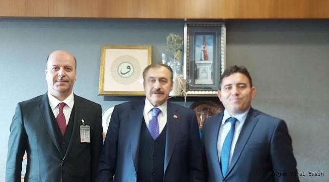 Başkan Bozkurt ve Kaymakam Kaya'dan Ankara Çıkarması