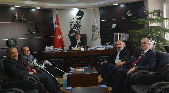 Başkan Sarı'ya Mehmetçik Vakfı'ndan Teşekkür