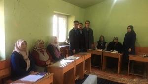 Çağlayan Köyü Kur-an Kursu Ziyaret Edildi