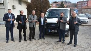 Dinar Belediyesine Yeni Araç Alındı