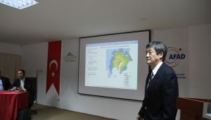 Japon Uzman Hasegawa Tarafından ´´Afet Risk Azaltma Planları' Semineri Verildi