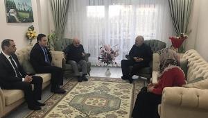 Kapankaya'dan Vefat eden Kore Gazi'sinin Ailesin'e ziyaret
