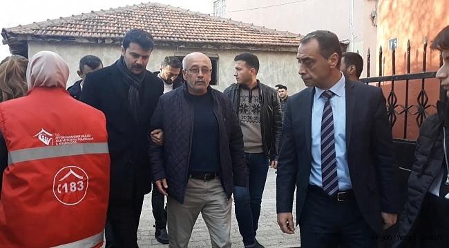 Şehidimizin Babası Mehmet Şahin Ankara'dan Evine Geldi
