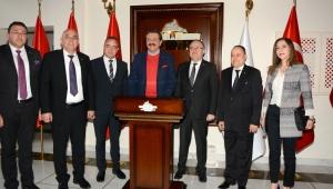 TOBB Başkanı Hisarcıklıoğlu, Vali Tutulmaz'ı Ziyaret Etti