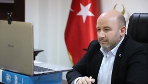 Başkan Sezen video konferans yoluyla Teşkilat Başkanı Kandemir ile görüştü