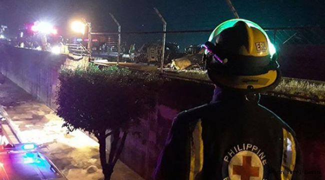 Coronalı hastası taşıyan özel uçak düştü