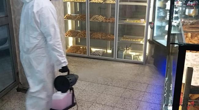 Dinar Mis Ekmek Fırınında Coronavirisüne Karşı Tüm Önlemler Alındı