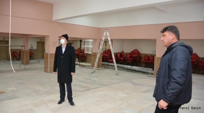 Düğün Salonu Tadilatında Sona Gelindi