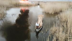 Eber Gölü Çevresinde Jandarma Önlem Aldı