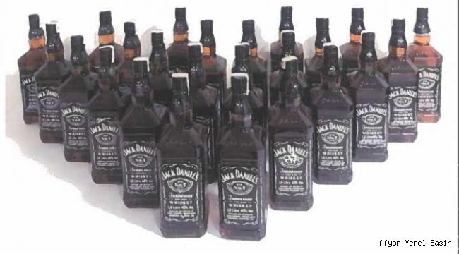 Kaçak içki Ele Geçirildi