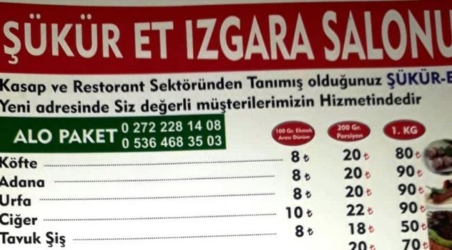ŞÜKÜR ET IZGARA SALONU 05325233560
