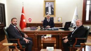 Vali Tutulmaz ile koordinasyon, Artuk'a hayırlı olsun ziyaretinde bulundu