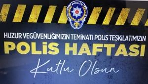 Dinar Emniyet Müdürlüğü Polis Haftası Dolayısıyla Duyuru Yaptı