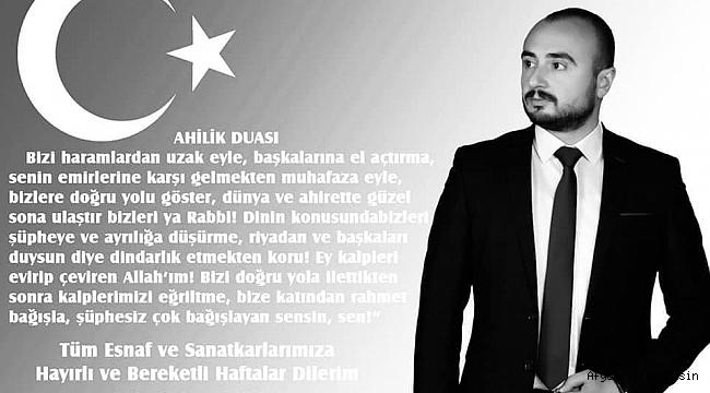 ESNAF SOKAĞIN IŞIĞIDIR IŞIĞIMIZ SÖNMESİN..