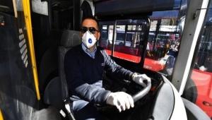 İzmir'de Toplu Taşım Araçlarına Maskesiz Binmek Yasak