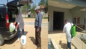 Köyler Üçüncü Kez Dezenfekte Edildi