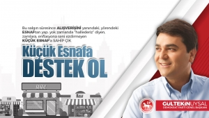 """""""Küçük Esnafa Destek Ol Türkiye"""""""