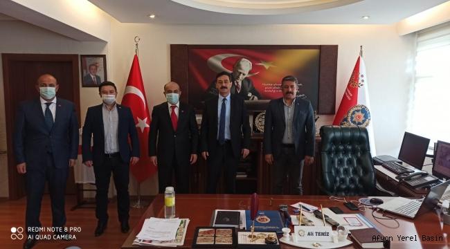 Nizamettin Şenol'dan Ali Temiz'e ZİYARET