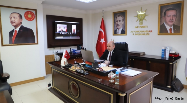 AK Parti'de video konferanslı teşkilat bayramlaşması