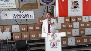 ANTALYA'DAN TUZLUKÇU'YA UTEF UMUTIŞIĞI KÖPRÜSÜ!