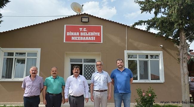 Başkan Sarı, Belediye Mezbahanesini ziyaret etti