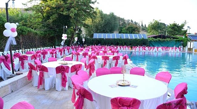 Dinar'da Suçıkan Havuz Düğün Salonu hizmete girdi