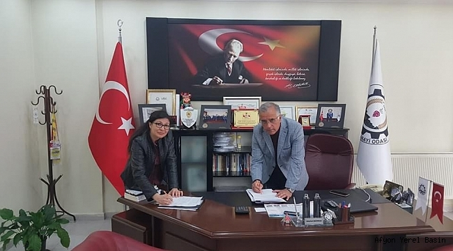 Dinar TSO ile MNG Kargo Dinar Acentesi arasında protokol imzalandı