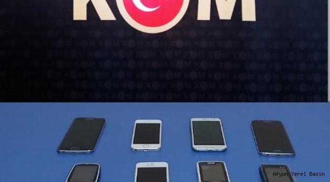 GÜMRÜK KAÇAĞI CEP TELEFONU ELE GEÇİRİLDİ