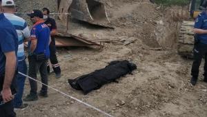 İnşaat işçisi göçük altında kalarak hayatını kaybetti..