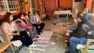 Köksal Dinar'da Şehit Ailelerinin 'Anneler Günü'nü Ziyaret Ederek Kutladı