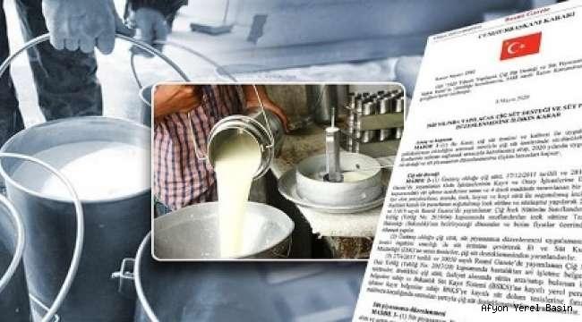 Süt Üreticilerine Bu Yıl Yapılacak Çiğ Süt Desteğine İlişkin Esaslar Belirlendi