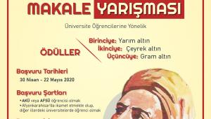 """""""Yunus Emre'nin Sevgi ve Hoşgörü Anlayışı"""" konulu makale yazma yarışması"""