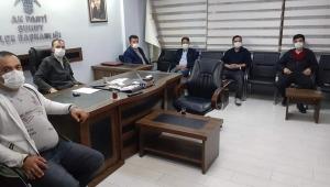 AKParti Şuhut Yürütme ve Yönetim Kurulu Toplantısını Gerçekleştirdi..