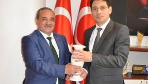 Başkan Ahmet Şahin, Cumhuriyet Başsavcısı Çelenk'i Ziyaret Etti