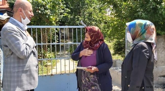 Başkan Bozkurt'tan Sevgi Yılı Ziyaretleri