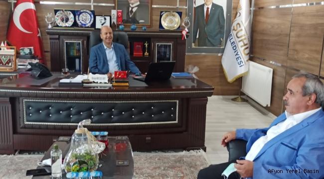 Başkan Şahin'den Başkan Bozkurt'a ziyaret