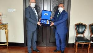 Başkan Şahin'den, Vali Tutulmaz'a Ziyaret