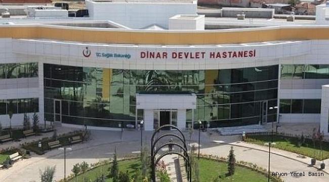 Dinar Devlet Hastanesinden Duyuru