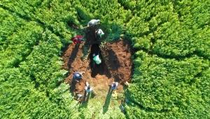 Drone İle Terfi Hattındaki Su Patlağı Dakikalar İçerisinde Tespit Edildi