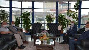 İGM Başkanı Çoban'dan Başkan Bozkurt'a Ziyaret