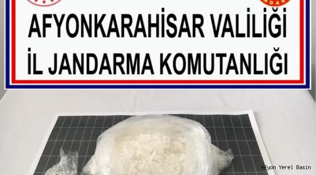 METANFETAMİN ELE GEÇİRİLDİ