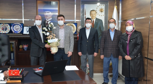 Şuhut Devlet Hastanesinden Başkan Bozkurt'a Teşekkür Ziyareti
