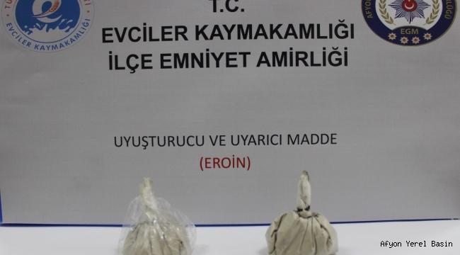 UYARICI MADDE (EROİN) ELE GEÇİRİLDİ