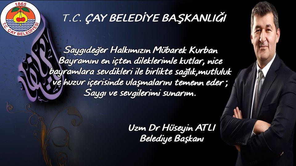 Başkan Atlı'dan Kurban Bayramı Kutlama Mesajı