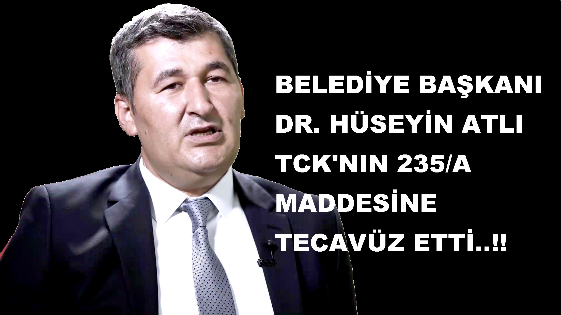 ÇAY BELEDİYESİ TCK'NIN 235/A MADDESİNE TECAVÜZ ETTİ..!!
