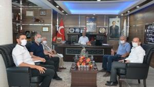 Gençlik Spor İl Müdürü Feyzullah Dereci'den Başkan Bozkurt'a Ziyaret.