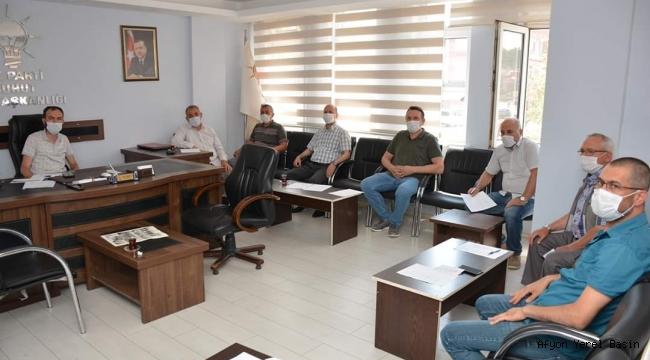 Şuhut Belediyesi AK Parti Grup Toplantısı Yapıldı