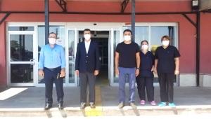 Sultandağı Entegre Devlet Hastanesine ziyaret..