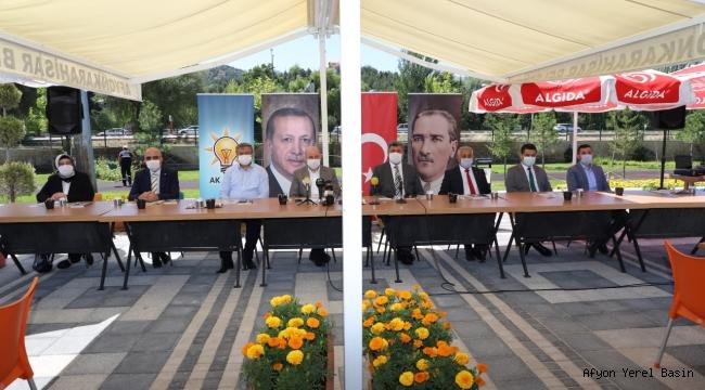 AK PARTİ İL BAŞKANLIĞI BASIN TOPLANTISI DÜZENLEDİ